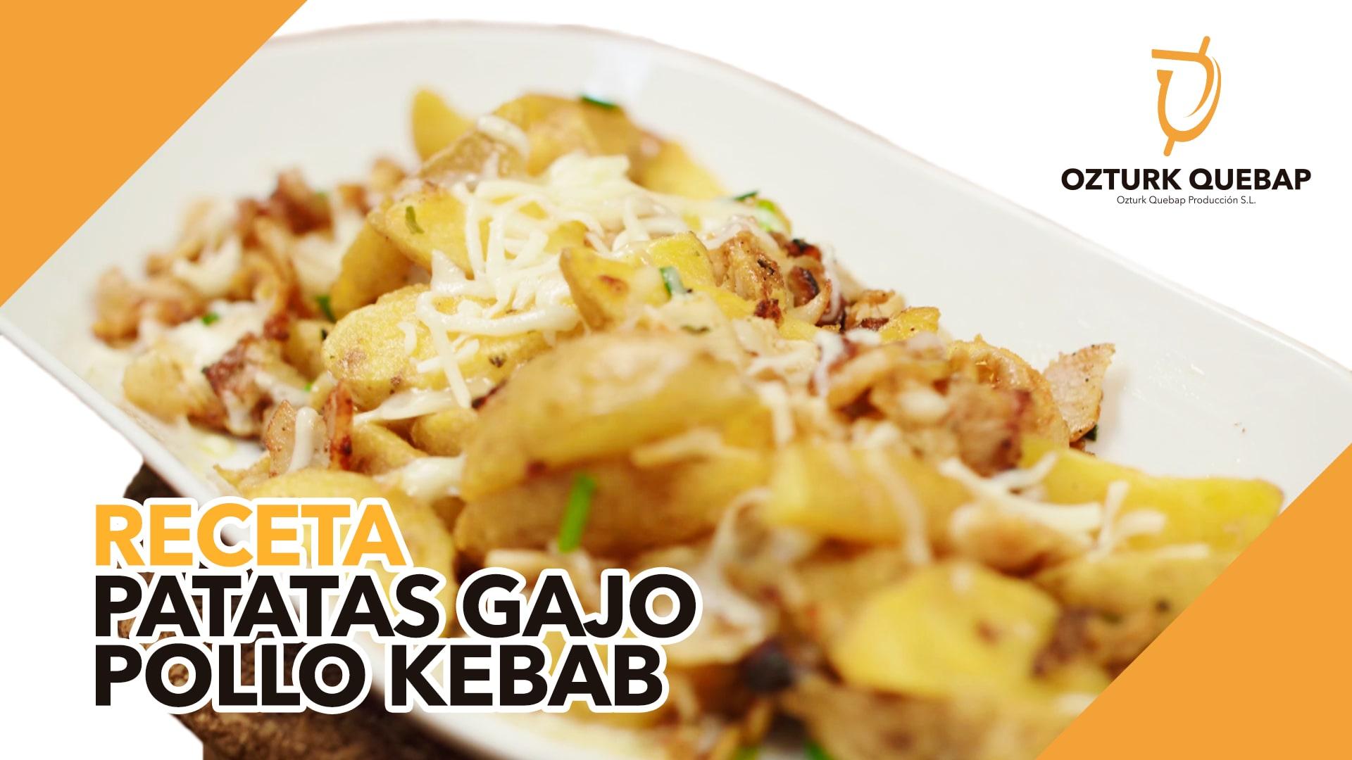 Receta Patatas Gajo con loncheado de pollo Ozturk Quebap